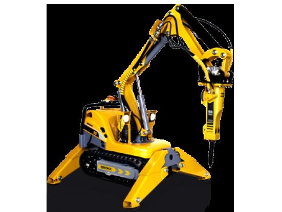 Brokk 90 – универсальный компактный демонтажный робот с мощным электродвигателем